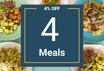 4 Meal Pack